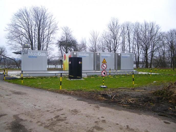 MobiGas, méthanisation par «voie sèche», modulaire de 3 à 10 conteneurs. Pour fumiers, bio-déchets, déchets agro-alimentaires, de 30 à 100 kWe