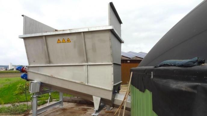 Trémie Inox de 7 à 40 M3 de capacité de stockage